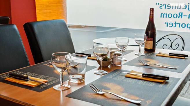 table detail - Brasserie des Princes, Wavre