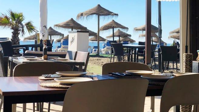 Vista terraza - Chiringuito, Asucar Beach, Marbella