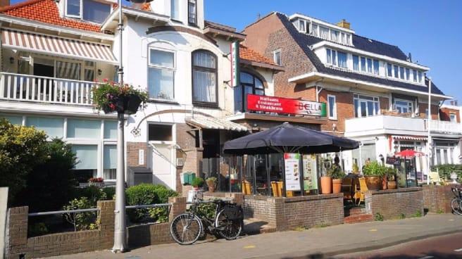 Ingang - Restaurant Bella, Zandvoort