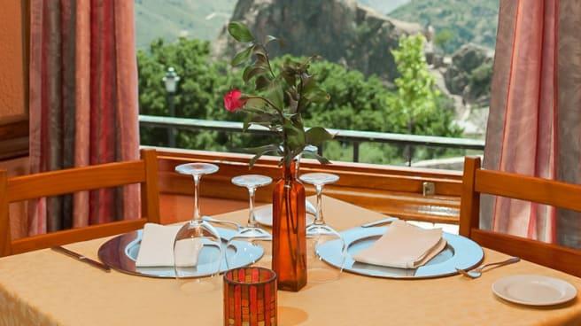 Vista mesa - Alcadima, Lanjaron