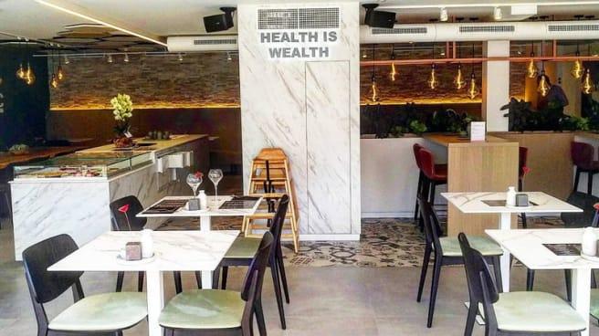 Salle - Organic Vision Restaurant & Wellness, Ostend