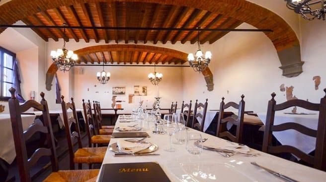 Vista sala refettorio - Ristorante La Taverna dei Frati, Pistoia