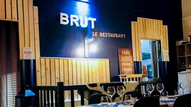 Vue de l'intérieur - BRUT le restaurant, Saint-Brieuc