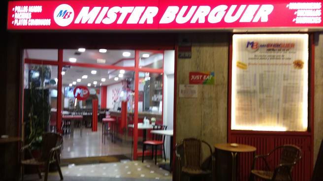 Entrada - Mister Burguer, Santiago de Compostela