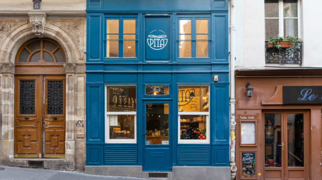Devanture - Pita Paris, Paris