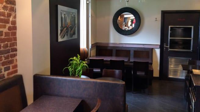 Interieur - Café Hôtel de l'Avenir, Saint-Ouen