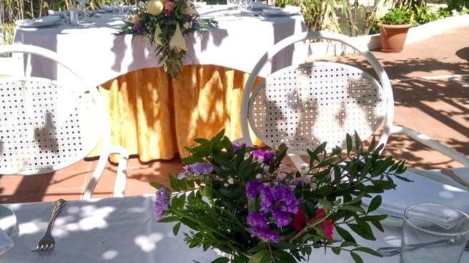 Vista mesa - Las Parrillas de Cobeña