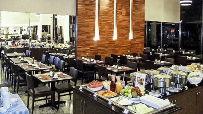 sala - Hotel Blue Tree Premium - Goiânia, Goiânia