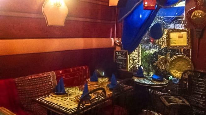 Salle du restaurant - Le Mogador, Saint-Cloud