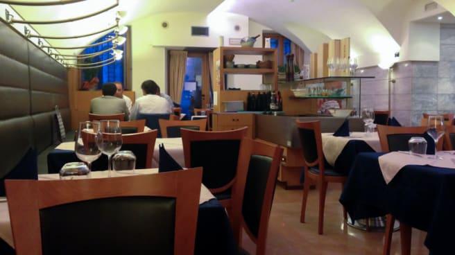 Sala del ristorante - Campana d'Oro, Udine