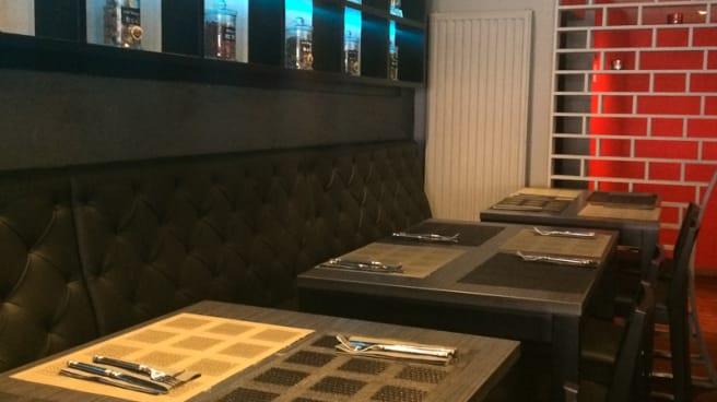 Salle du restaurant - Yi Chan, Brussel