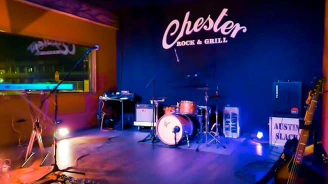 Vista del interior - Chester Rock & Grill