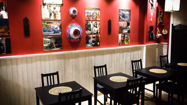 Sala del restaurante - Etiopico Afrika, Maspalomas