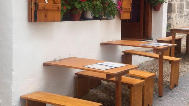 Terraza - La Taverneta de San Roc, Peníscola