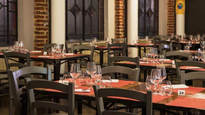Sala del ristorante - Linopassamilvino, Turin