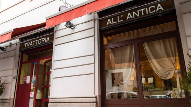 Esteriore - Trattoria all'Antica, Milan