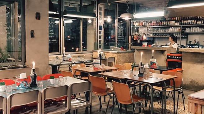 Vue de la salle - Grazie Italia, Paris