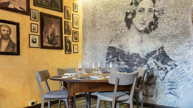 Vista della sala - La Cucina del Maestro, Parma