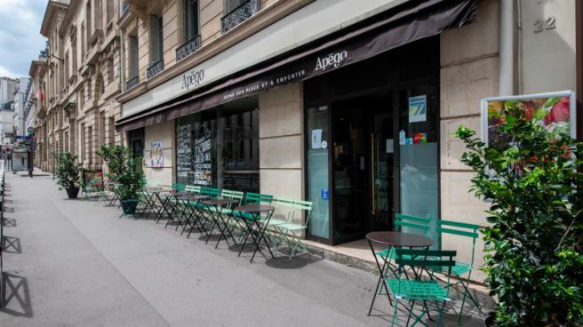 Terrasse - Apégo, Paris