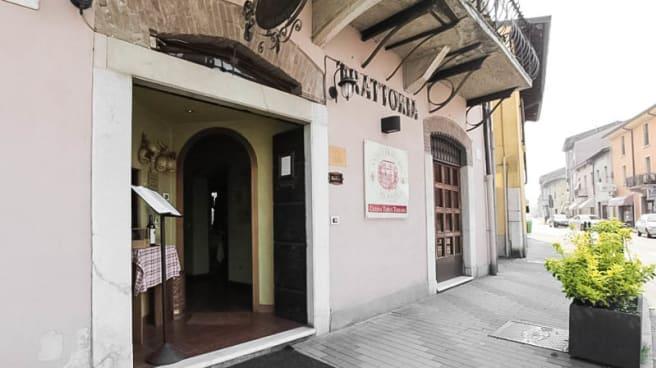 entrata - Antica Trattoria del Ponte, Brescia