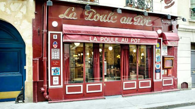 entrée - La Poule au Pot, Paris