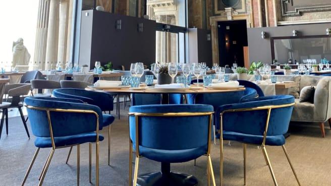 Sala del restaurante - Oleum Restaurant, Barcelona
