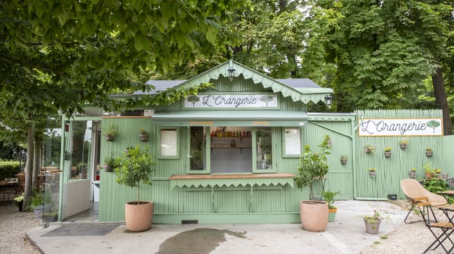 Terrasse - L'Orangerie, Saint-Cloud