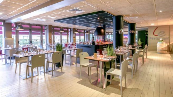 La salle de restaurant - Campanile Toulouse Ouest Purpan, Toulouse