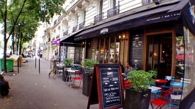 Aperçu de la facade - Barbershop, Paris