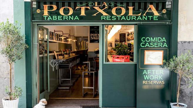 Entrada - La Potxola Taberna, Madrid