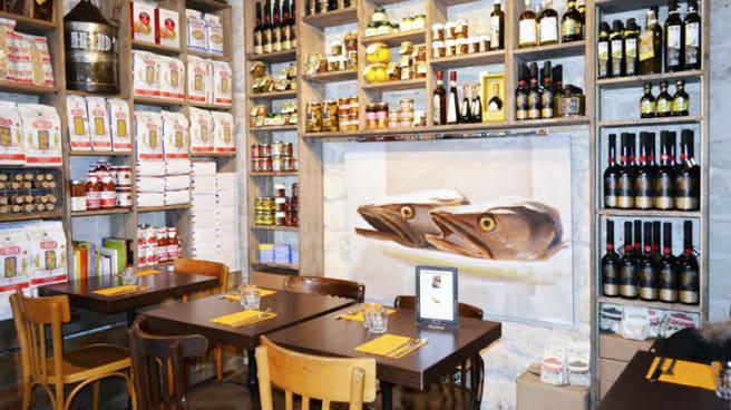 Vue de la salle - Figue & Olive, Paris
