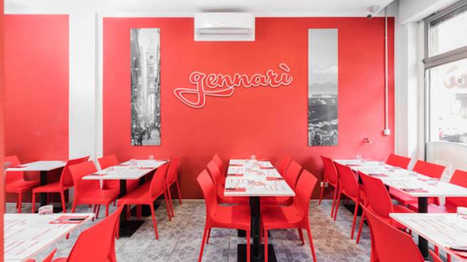 Veduta dell interno - Pizzeria Gennarì - Umbria, Milano