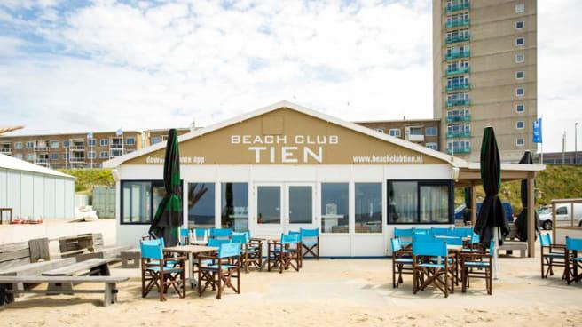 Voorkant - Beach Club Tien, Zandvoort