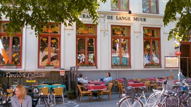 De Lange Muur in Brugge - Menu, openingsuren, adres, foto's van ...