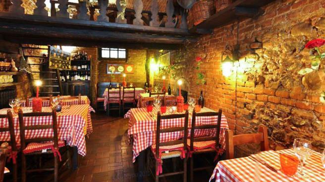 La sala - Taverna delle rose, Turin