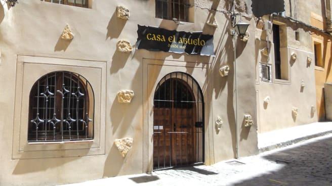 Entrada - Casa El Abuelo, Segovia