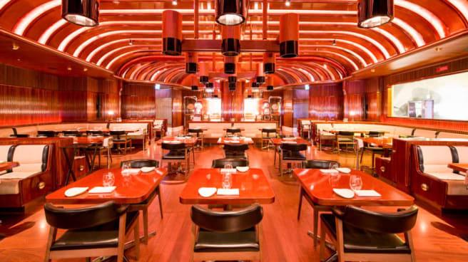 Vista sala - The Stage Dining, Milano