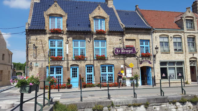 Devanture - Taverne Bruegel, Bergues
