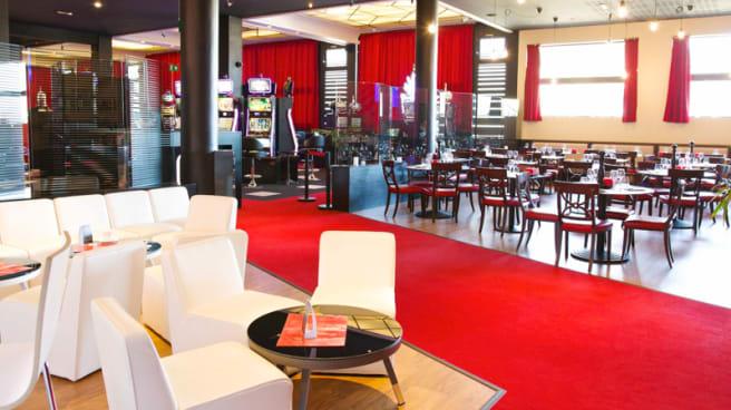 Vue de la salle - Le Caz Brasserie - Casino Partouche de Royat