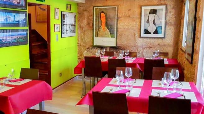 Vista del interior - La Piccola Italia SCQ, Santiago de Compostela