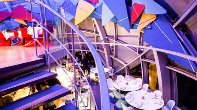 Vue de la salle - Atomium Restaurant, Brussels