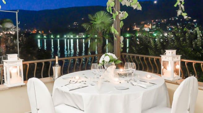Serata romantica sull isola Bella  Ristolounge Elvezia - Ristolounge Elvezia, Stresa