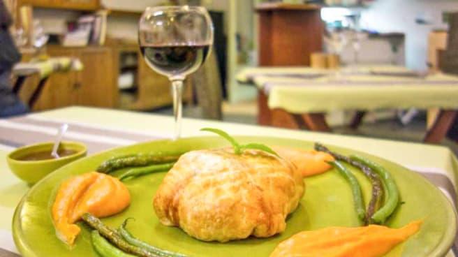 plat principal / vue de la salle - La Table des Saisons, Aix-en-Provence