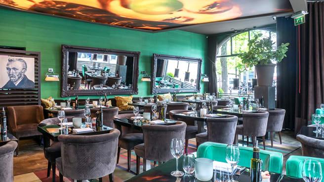 Het restaurant - Restaurant Red, Amsterdam
