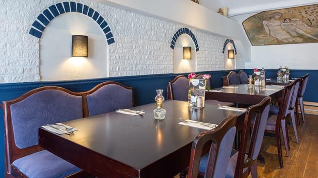 Het restaurant - Olympia, Boskoop