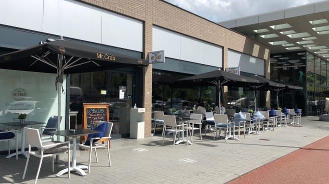 Terras - Mr. Crab Zuidas, Amsterdam