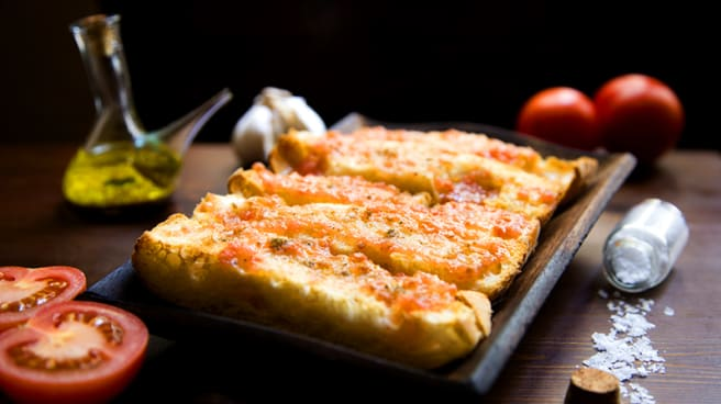 Pan tomate - Ziryab, Barcelona
