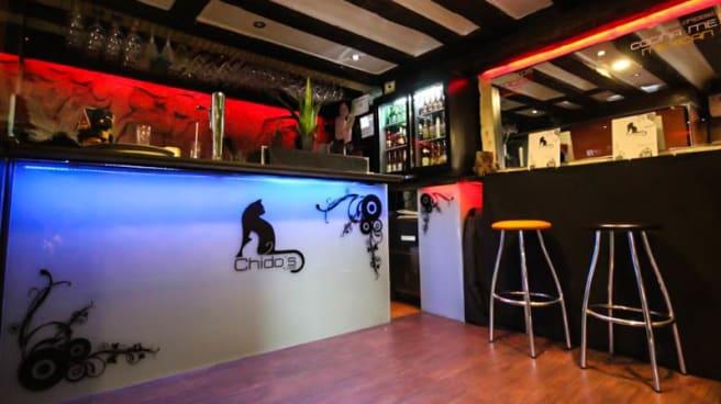 Vista sala - Chido's Bar, Salamanca