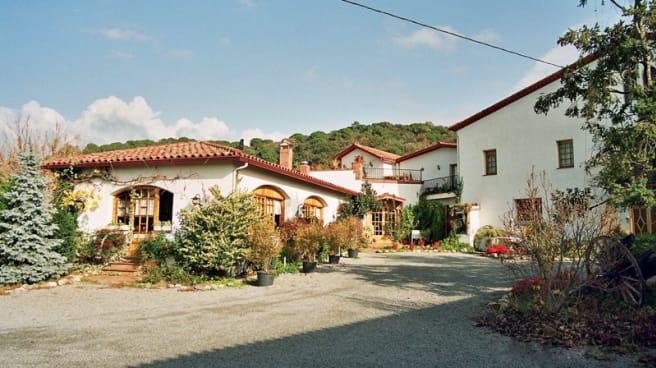 Vista de la masia - Can Nofre