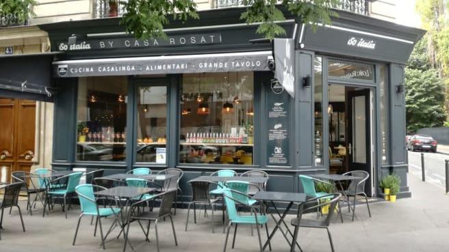 Notre Terrasse en extérieur - So Italia, Paris